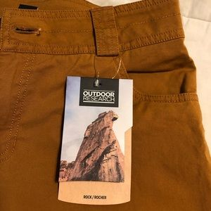BRAND NEW OUTDOOR RESEARCH WADI RUM PANTS SIZE 6